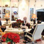 Bambang Soesatyo berbincang dengan Staf Khusus Presiden RI Bidang Sosial, Angkie Yudistia membahas Komisi Disabilitas