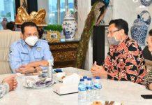 Bambang Soesatyo bersamaPengurus Koperasi UKM Indonesia Sejahtera