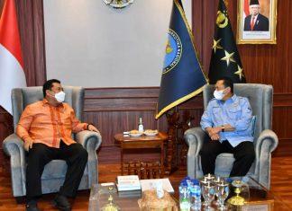 Bambang Soesatyo bertemu Kepala BNN, Komjen Pol Petrus Reinhard Golose