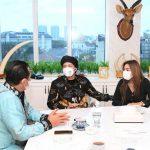 Bamsoet bersama Atta Halilintar dan Aurel Hermansyah