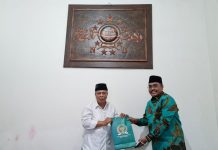 Jaziul Fawaid bertemu Kiai Muhyiddin Ishaq