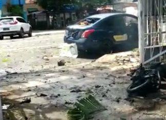 Lokasi Bom Bunuh Diri Gereja Katedral Makassar