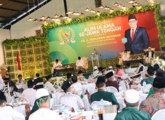 Muhaimin Iskandar Berpidato di Hadapan Ratusan Pesantren di Jawa Tengah