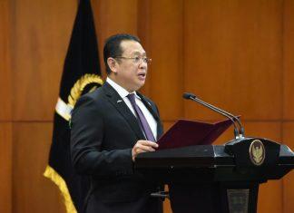 Bambang Soesatyo Melantik Anggota MPR Fraksi PKB MF Nurhuda