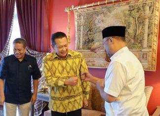 Bambang Soesatyo Menerima Rektor Universitas Terbuka Prof. Dr. Ojat Darojat
