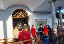 Ahmad Basarah Mengunjungi Gereja Terkena Dampak Gempa di Malang