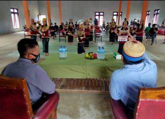 Anggota MPR Fraksi Demokrat Irwan Melakukan Sosialisasi Empat Pilar bersama tokoh masyarakat Wilayah Sempaja