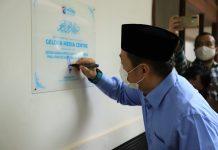 Anis Matta Resmikan Media Center Gelora