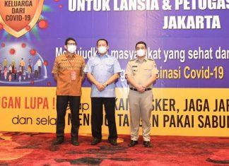 Bambang Soesatyo Menghadiri Vaksinansi untuk Lansia dan Pekerja Pariwisata