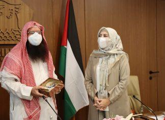 Himmatul Aliyah menerima kunjungan Ulama Besar Palestina Syech Muraweh Mousa Nassar