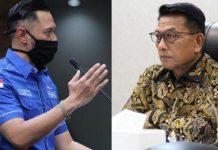 Agus Harimurti Yudhoyono vs Moeldoko