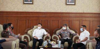 Bambang Soesatyo bersama Forkompida Aceh