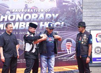 Bambang Soesatyo bersama Pengurus Besar HDCI di Kompleks Parlemen Senayan