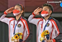 Greysia-Apriyani Raih Emas di Olimpiade Tokyo