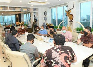 Bambang Soesatyo Beraudensi dengan Pengurus Hipmi Jaya