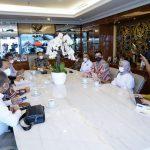 Bambang Soesayo berdialog dengan Walikota Batam Muhammad Rudi
