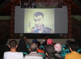 Cuplikan Penanyangan Film G30S PKI