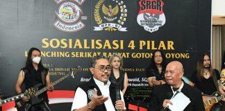 Jaziul Fawaid Resmikan Serikat Gotong Royong di Bandung